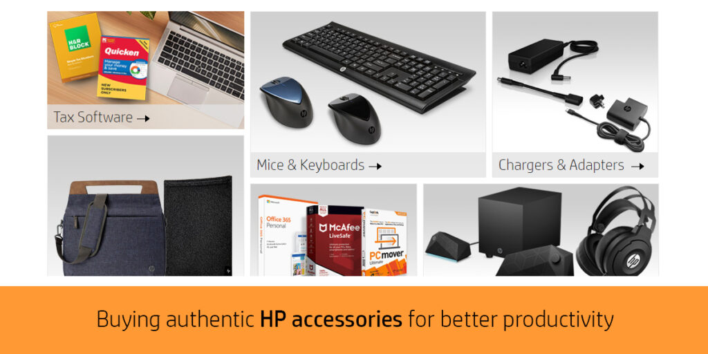 authorized regional distributor for HP accessories in Mumbai